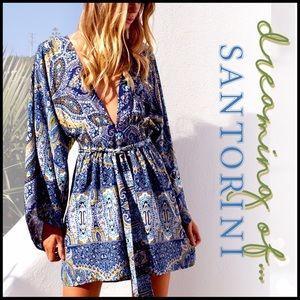 Kimono Sleeve Mini Dress/Tunic